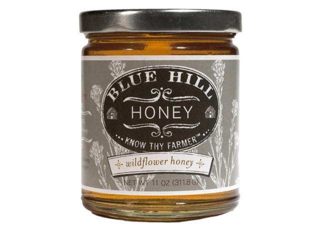 Open wide: Wildflower honey from Blue Hill Farms in Pocantico Hills, N.Y.