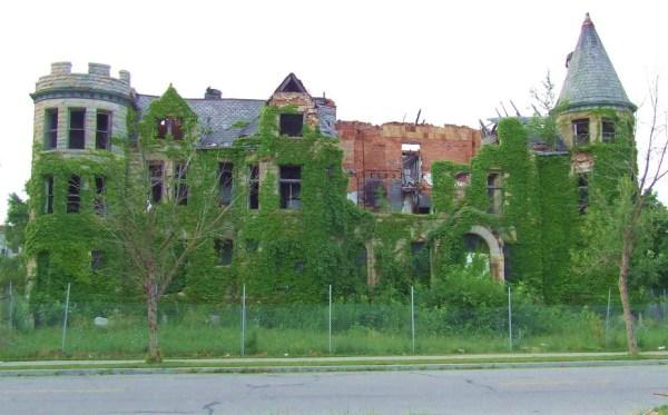 James Scott Mansion in Detroit