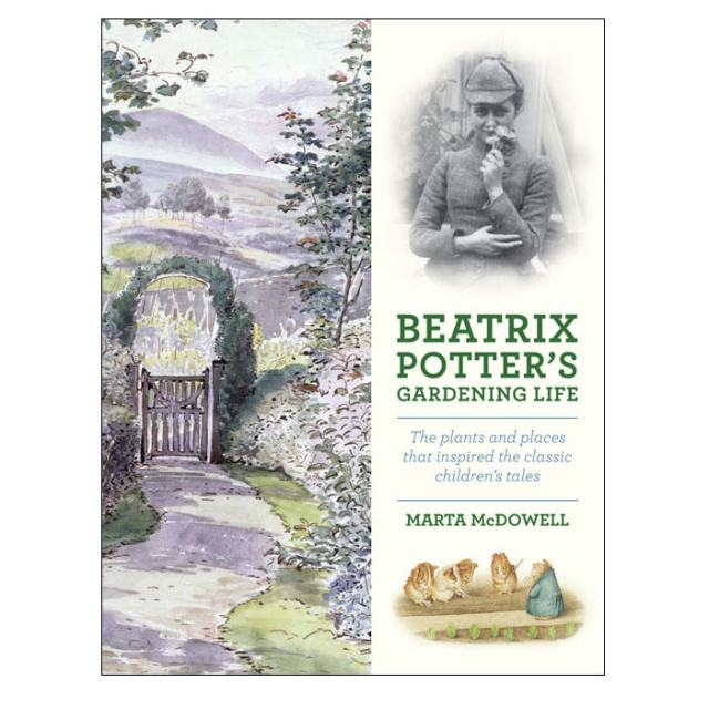 The cover of Beatrix Potter's Gardening Life:  by Marta McDowell