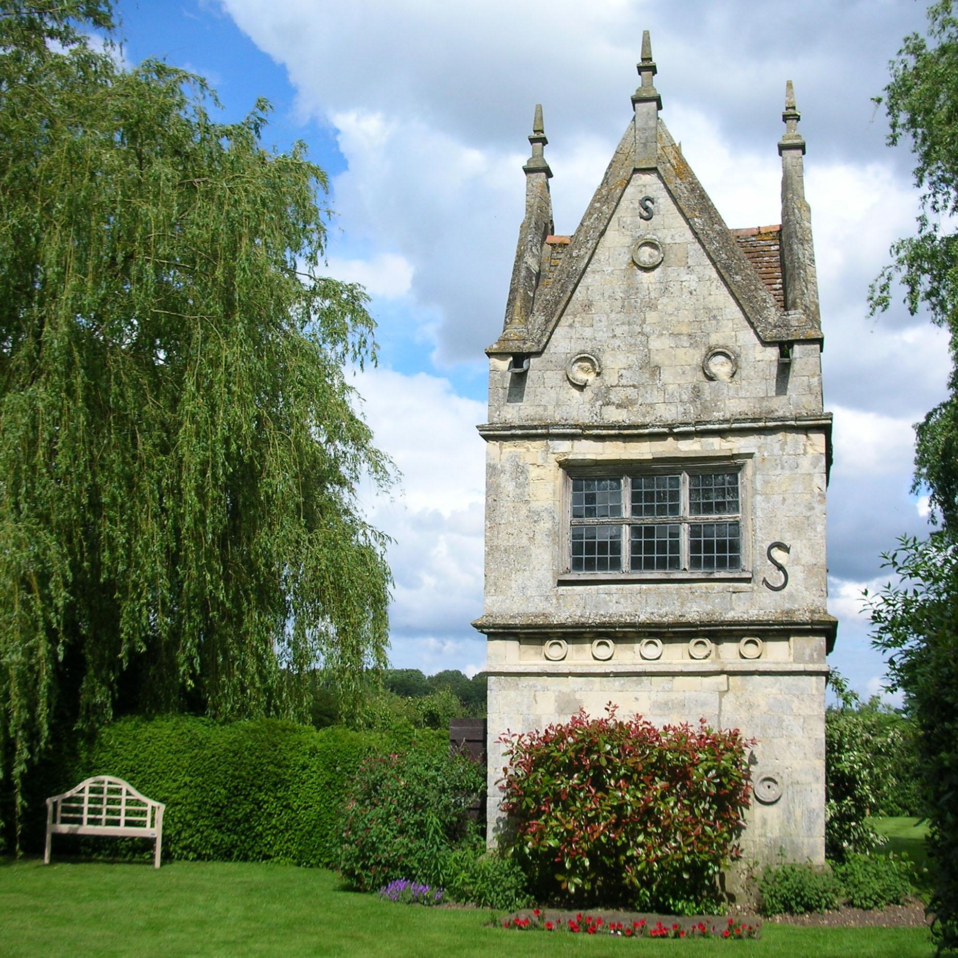 Photo of the week a grand garden shed garden variety for Garden folly designs