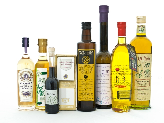 Pucker up! A range of artisanal vinegars. Photo courtesy of Fairway Market.