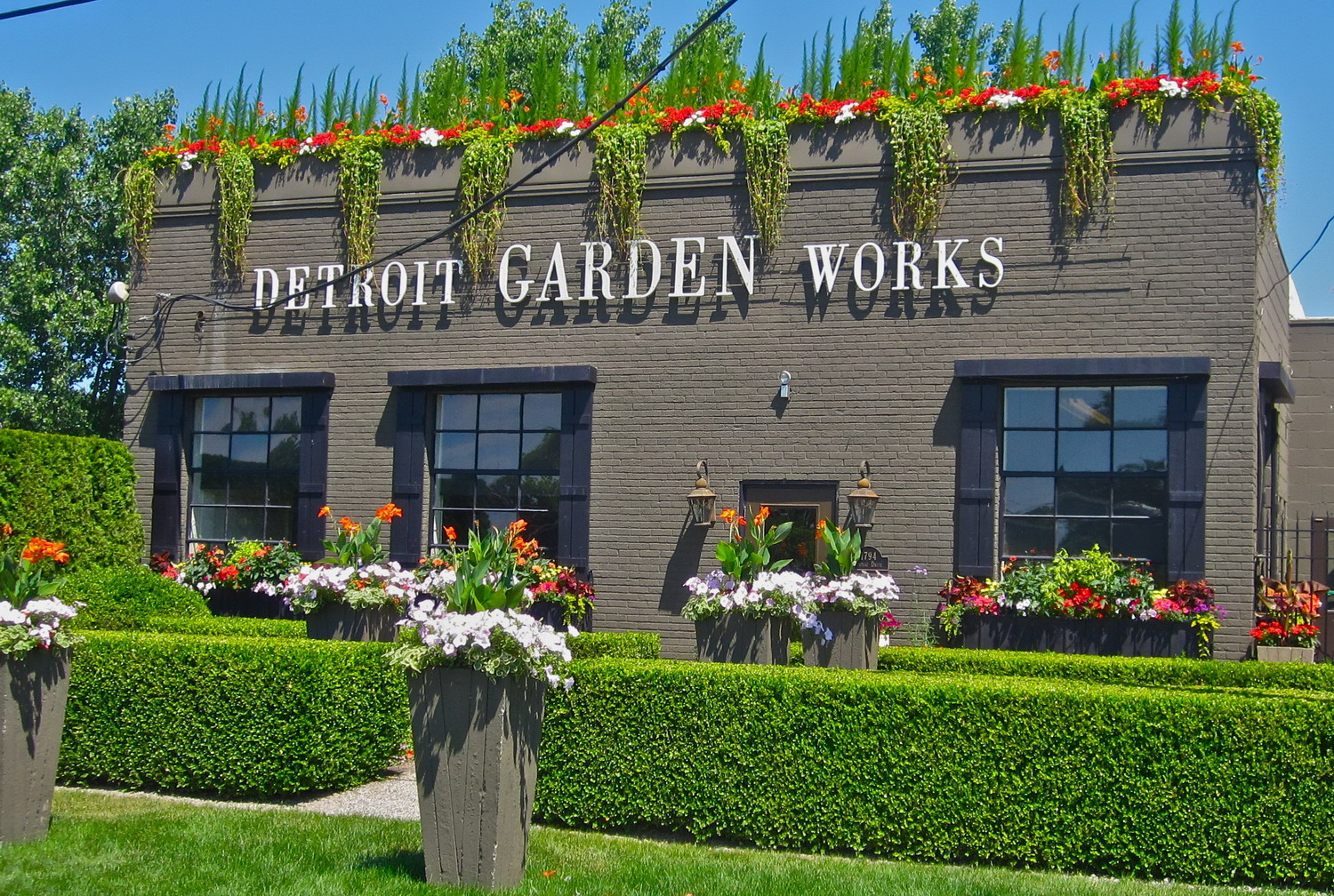 In store detroit garden works garden variety for Gardening and landscaping