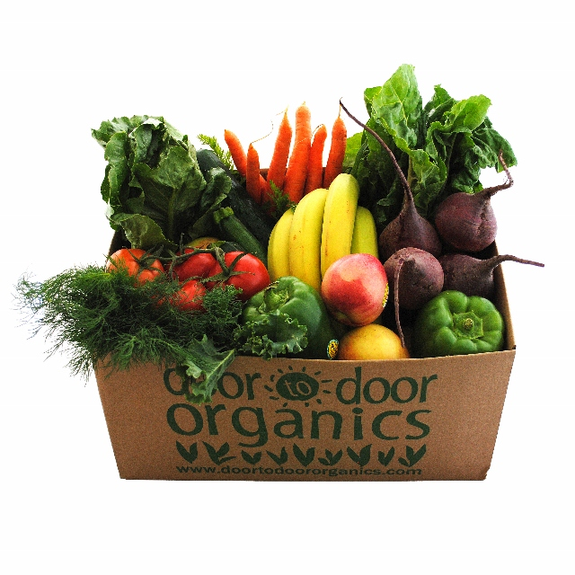 Photo courtesy of Door to Door Organics.