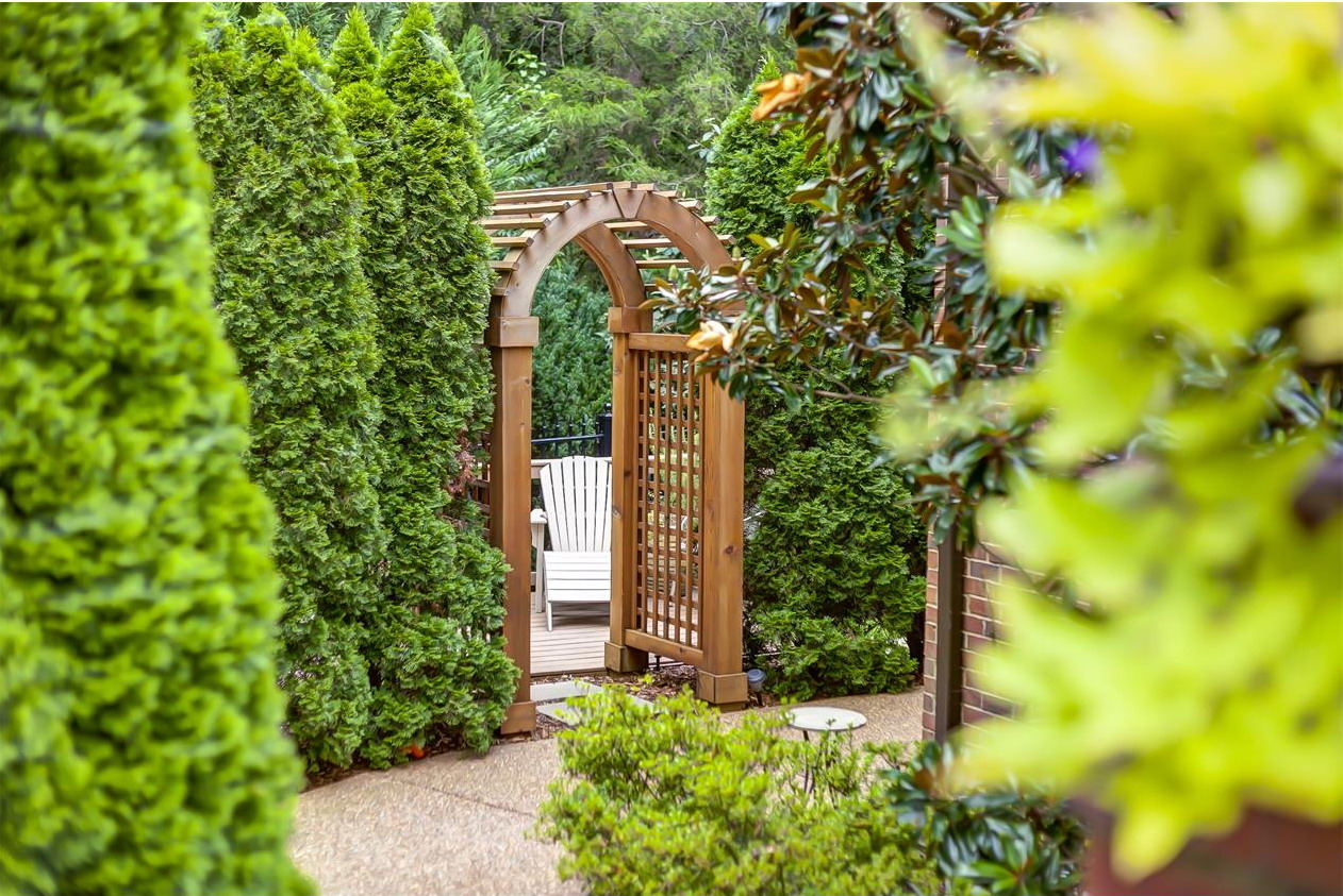 Photo of the Week A Garden Arbor and Lush Plantings Garden Variety
