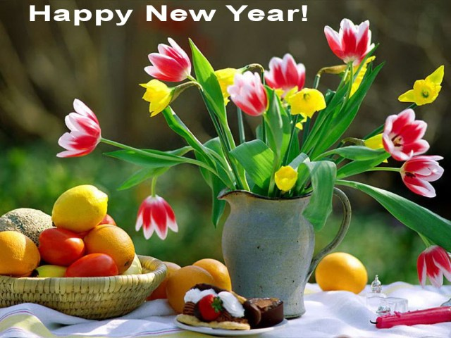 happy-new-year-fruits-vegetables-flowers-garden-variety