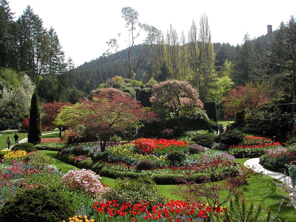 The Butchart Gardens Vancouver Island British Columbia Canada 2