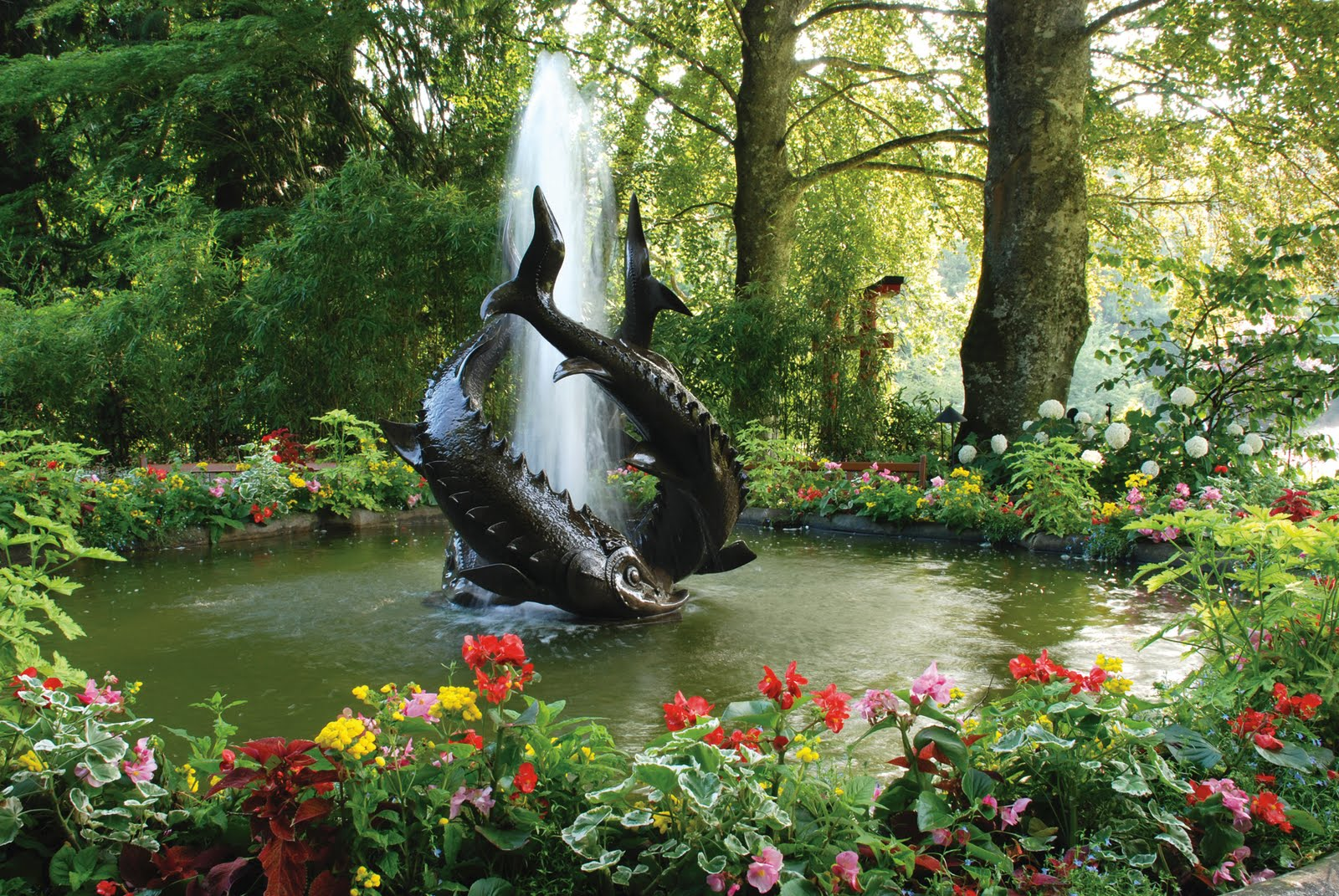 The Butchart Gardens Vancouver Island British Columbia