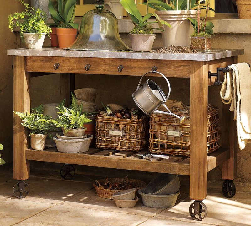 small potting bench plans