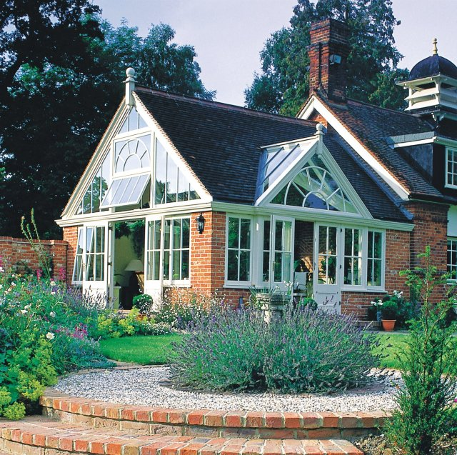 Westbury Gardens Winter: Garden Room, Sunroom And Conservatory Planting And
