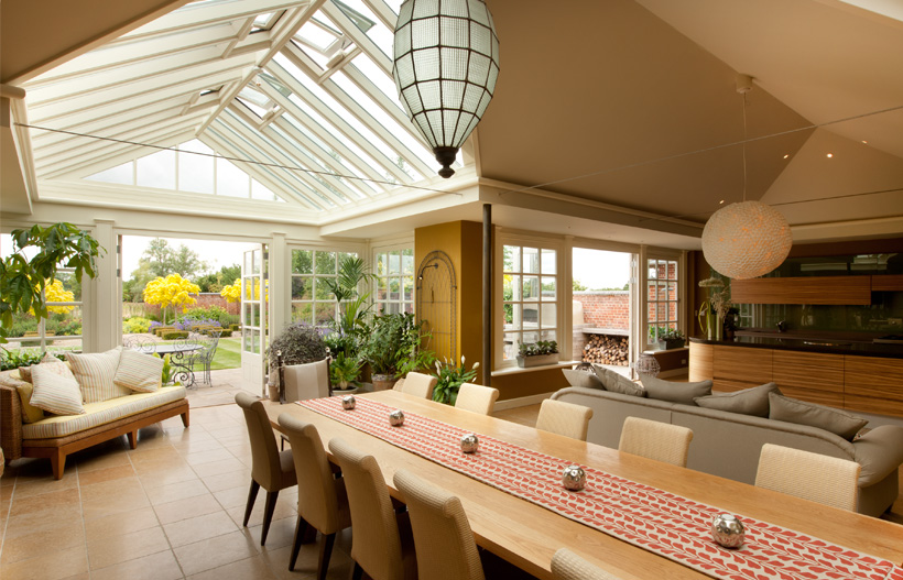 Garden room sunroom and conservatory planting and for Garden room interior