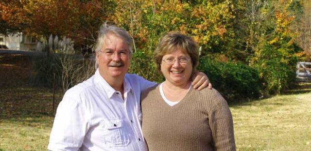 George and Cindy Martin, owners of The Tasteful Garden.