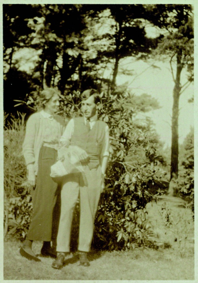 The author's favorite photo of Leonard and Virginia Woolf in the garden. Courtesy of Virginia Woolf's Garden: The Story of the Garden at Monk's House by Caroline Zoob. Photography by Caroline Arber. By permission of the publisher Jacqui Small LLP and the Keynes family..