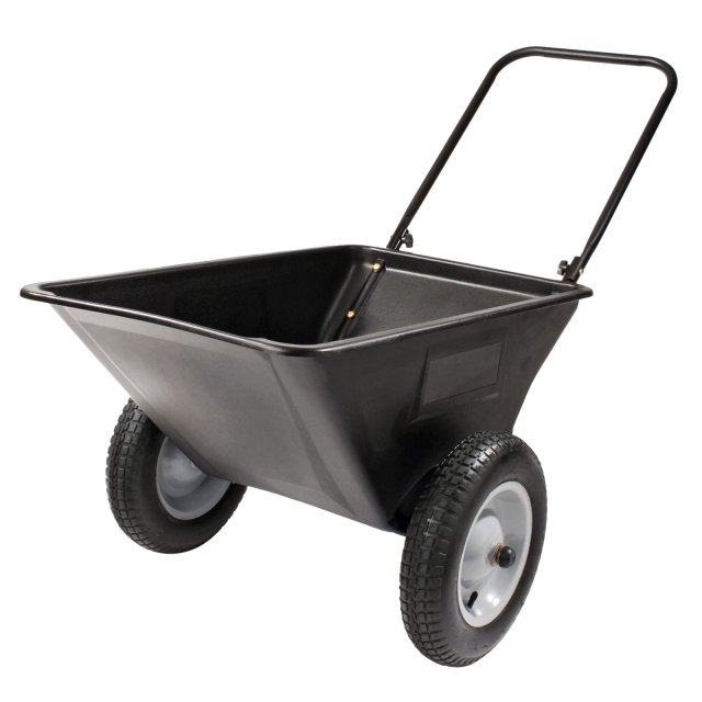 Precision Products Garden Cart. $84.99 with free shipping; cartsonthego.com.