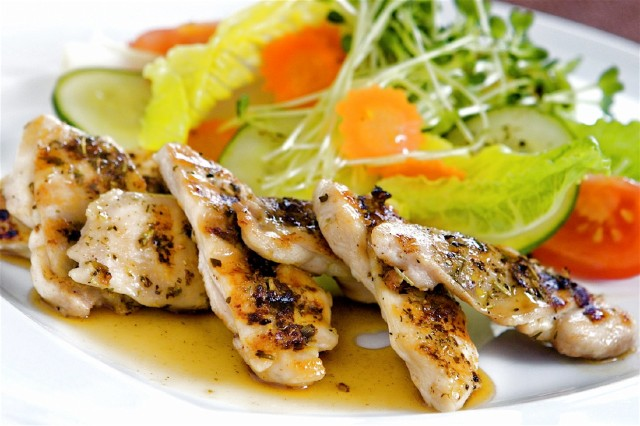 Lavender-Lilikoi Chicken by chef Crystal Carroll from The Maui Book of Lavender. Photo courtesy of Watermark Publishing.