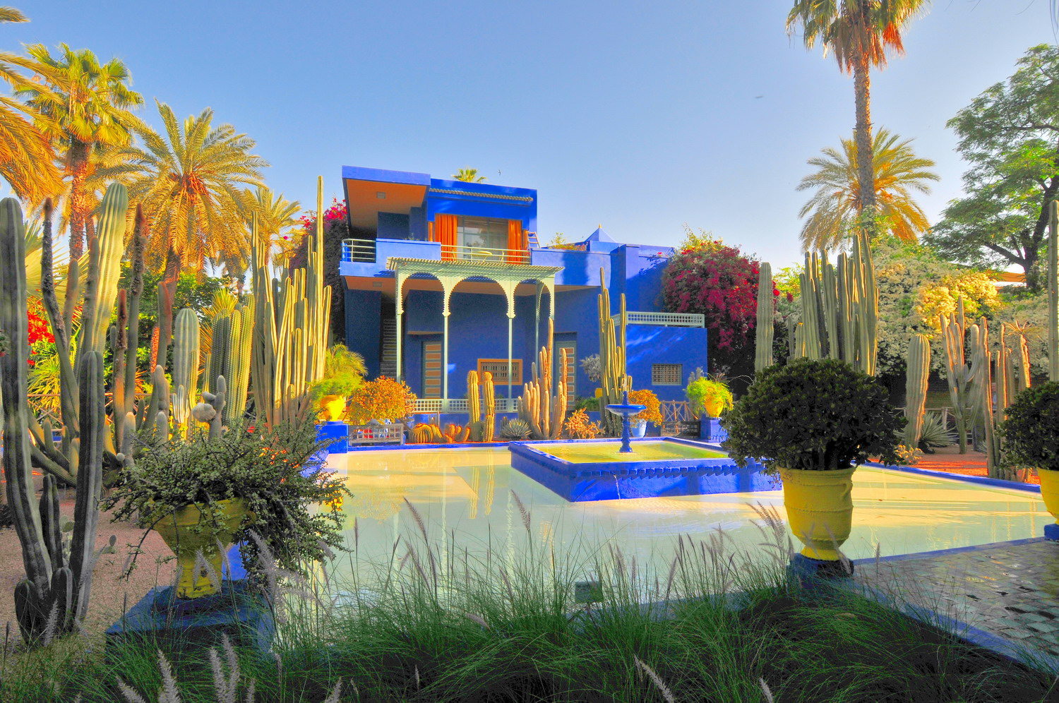 Majorelle gardens the exotic park that inspired yves for Jardin ysl marrakech