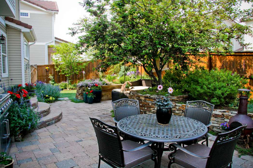Breathtaking Rocky Mountain Gardens, Patios And