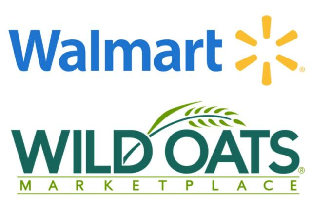 Images courtesy of Walmart and Wild Oats Marketplace.
