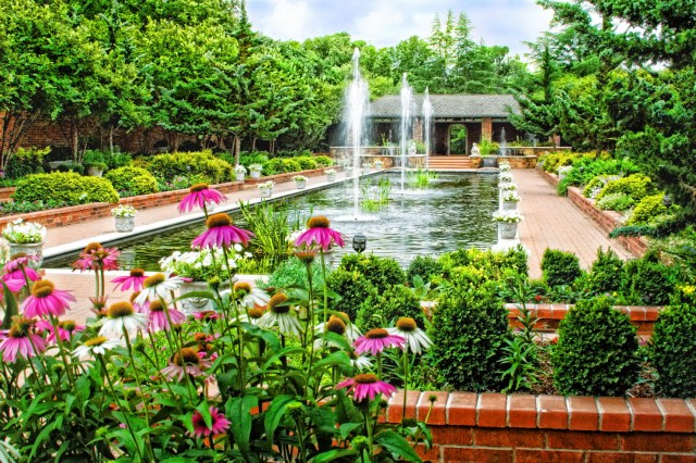 Clark Gardens Botanical Park, an environmental education-focused 143-acre public garden in north-central Texas.